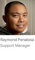 Raymond Penalosa, Support Manager