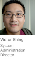 Victor Shing, System Administration Director